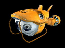 Batiscaf submersible 3d model