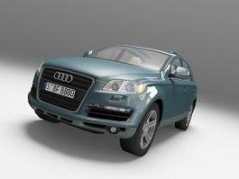 Audi Q7 SUV 3d model