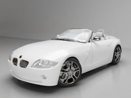 BMW Z4 convertible 3d model