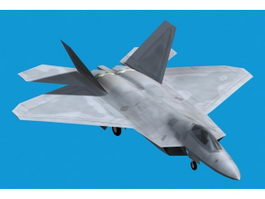Lockheed F-22 Raptor 3d model