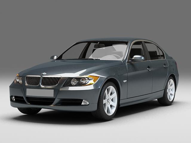 BMW 330 sedan 3d model