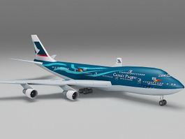 HK Cathay Pacific Airlines Boeing 737 3d model