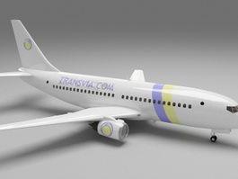 Transavia Airlines 737 3d model