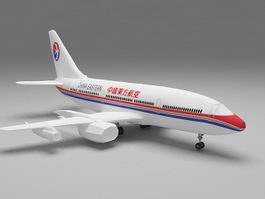 China Eastern Airlines Airbus A320 3d model