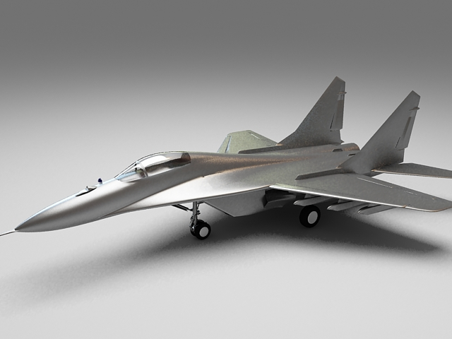 Mig 29 Soviet Fighter 3d Model 3ds Max Files Free Download