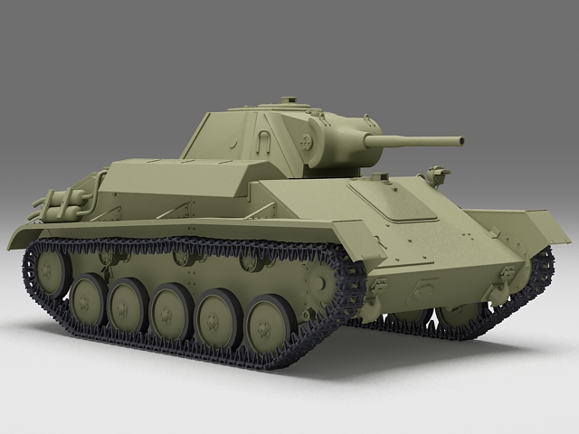 U S  Army Tank 3d model 3ds Max files free download