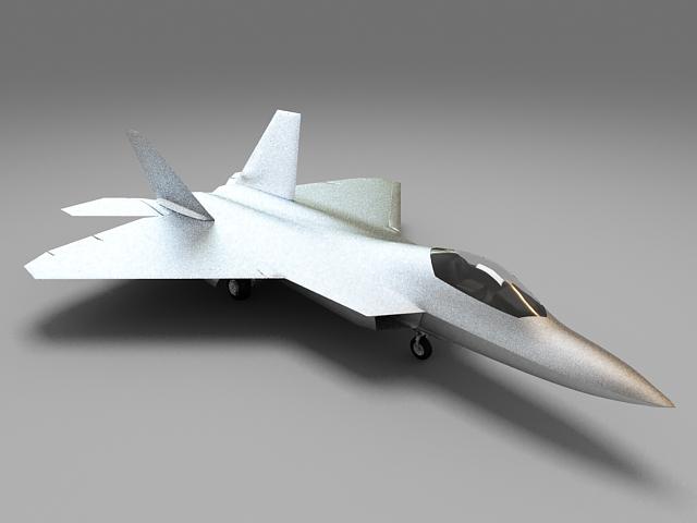 Modern Military Fighter Jet 3d model