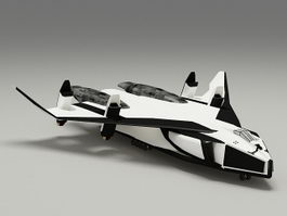 Avatar Space Shuttle 3d model
