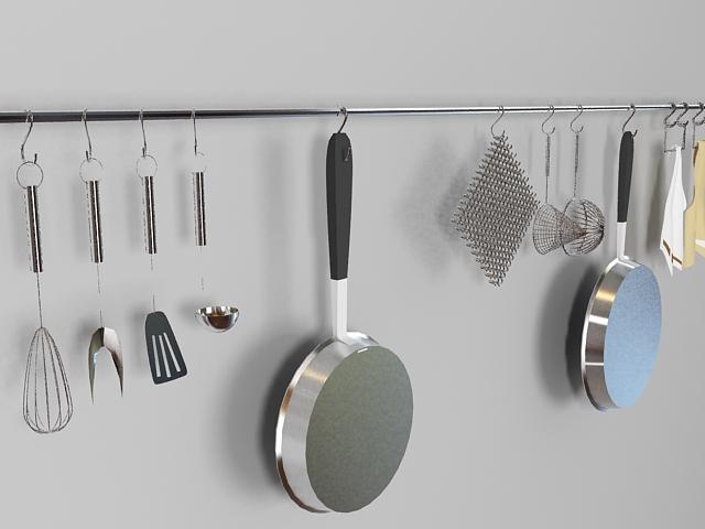 Kitchen Utensils Set 3d model
