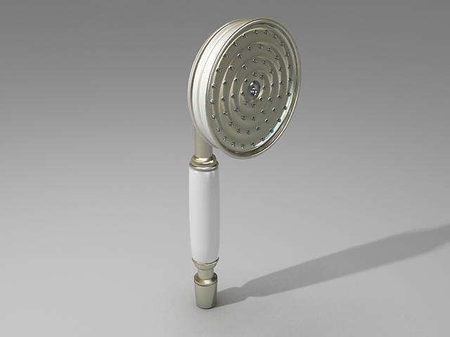 Hand shower head 3d model