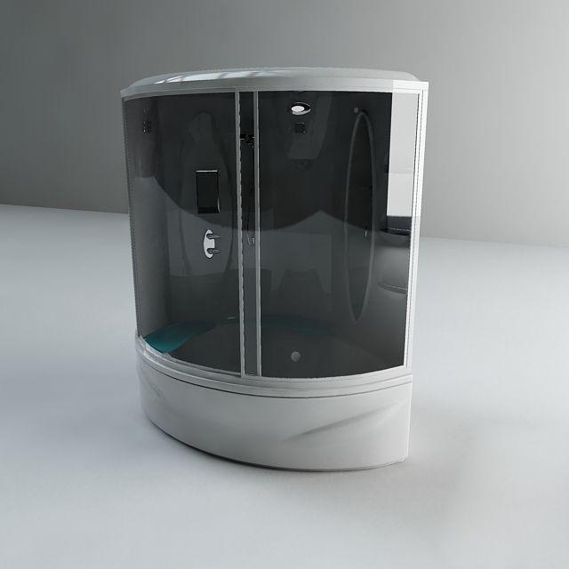 Steam Shower Bath 3d model