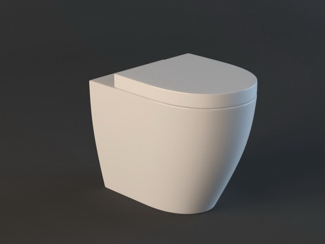Wall Hung WC 3d model