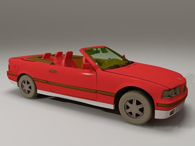 BMW 325i Convertible 3d model