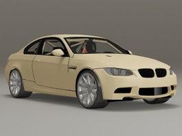 BMW E92 M3 3d model