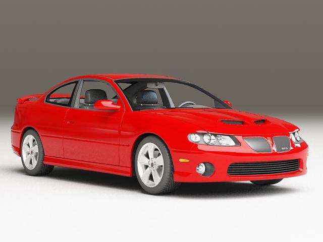 Pontiac GTO 6.0 3d model
