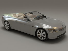 BMW 6 Series convertible 3d model