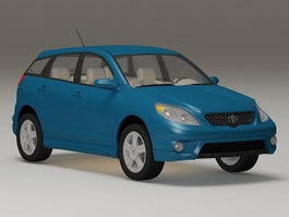 Toyota Matrix XR 3d model