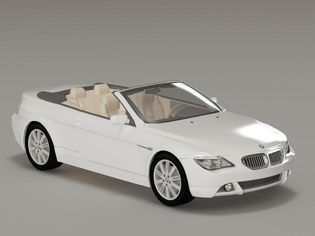 BMW M3 Convertible 3d model