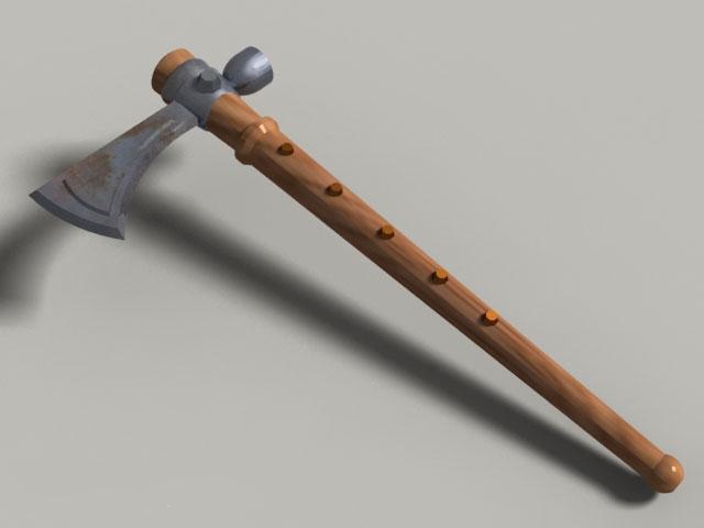Tactical Tomahawk 3d model