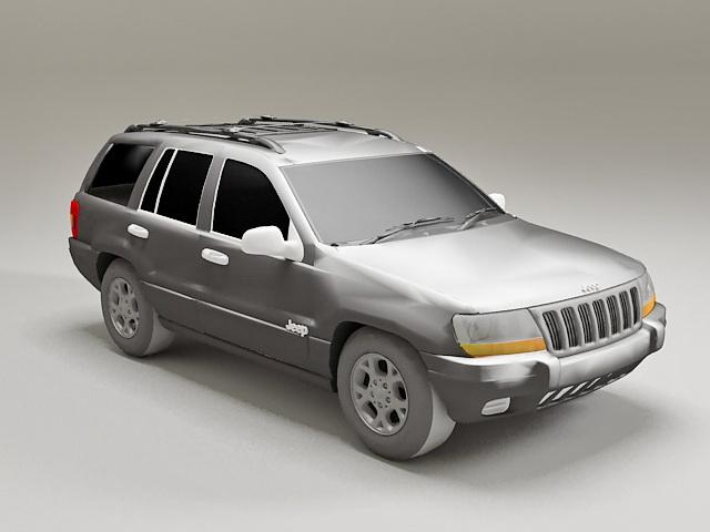 Jeep GC Altitude 3d model