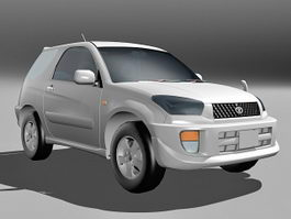Toyota RAV4 SUV 3d model