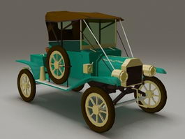 Ford Model T12 3d model