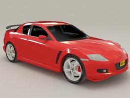 Mazda RX-8 Red 3d model