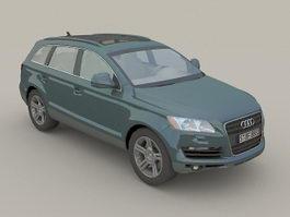 Audi Q7 3d model