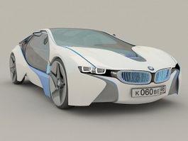 BMW Vision Concept Car 3d model