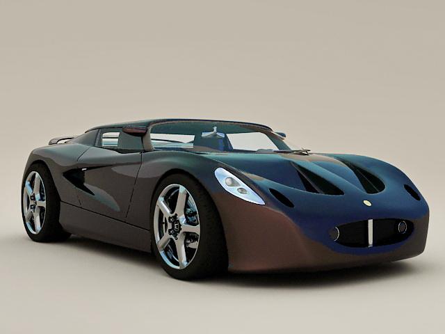 Lotus Roadster 3d model