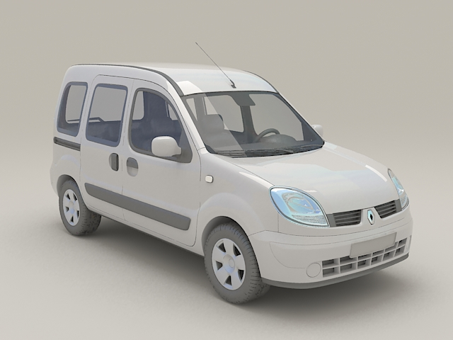 Renault Kangoo MPV 3d model