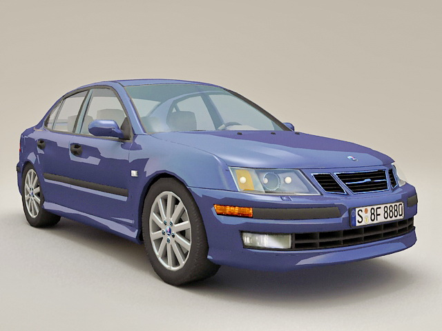 Saab 9-3 Sport Sedan 3d model