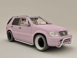 Mercedes ML430 3d model
