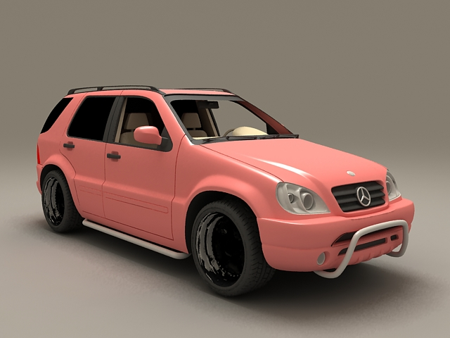 ML430 Mercedes-Benz SUV 3d model