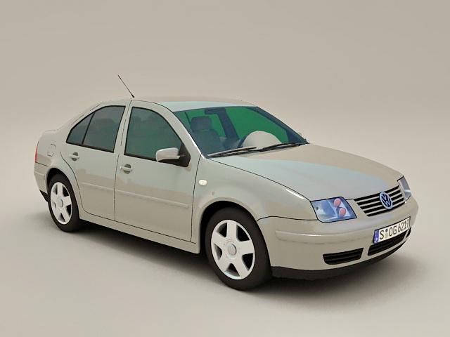 Volkswagen Vento 3d model