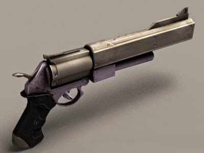 Batman Joker Revolver 3d model
