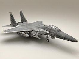 U.S. military war fighter 3d model
