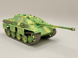 German Jagdpanther Tank Destroyer 3d model