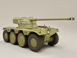 AMX Wheeled Reconnaissance Vehicle 3d model