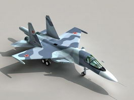Sukhoi Su-34 Fighter Bomber 3d model