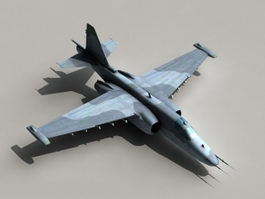 Sukhoi Su-39 Frogfoot 3d model