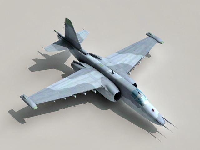 Sukhoi Su-39 Frogfoot 3d model
