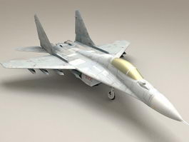 MiG-29 Fulcrum Fighter Jet 3d model