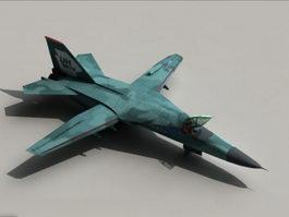 F-111 Aardvark Fighter Bomber 3d model