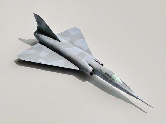 Dassault Mirage IV Bomber 3d model