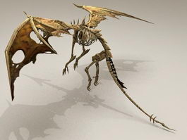Bone Drake Dragon 3d model