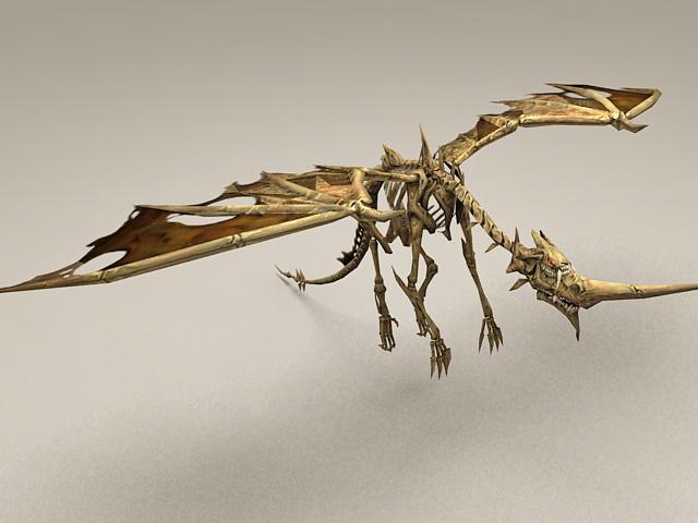 Bone Drake Dragon 3d model