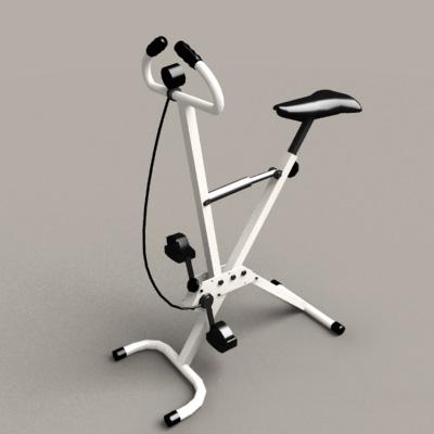 Foldable Exercise Bike 3d model
