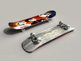 Skate Skateboard 3d model