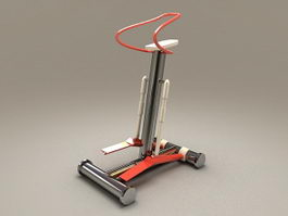 Stepper Machine 3d model